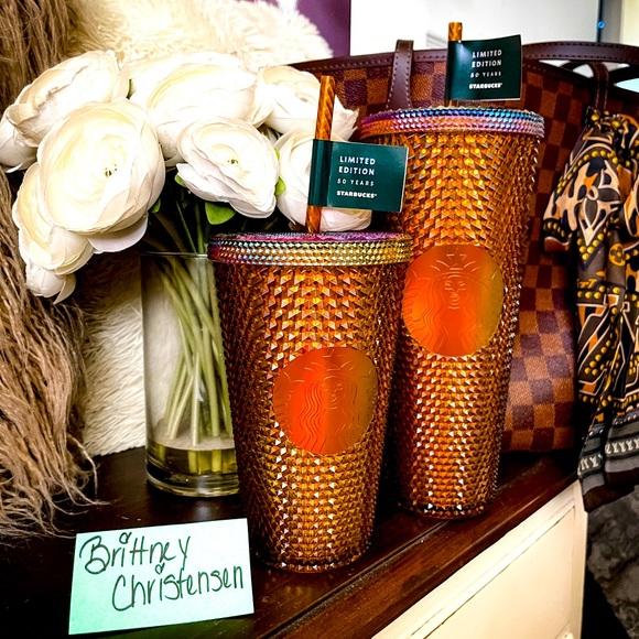 Starbucks Honeycomb tumbler set
